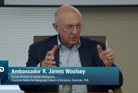Key Elements of Energy Security – Ambassador R. James Woolsey, ACD, Sep. 30, 2013