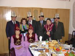 Kyrgyztan - members of ACD delegation and locals, 2005