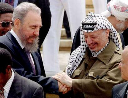 Image result for CASTRO AND PALESTINE PHOTO